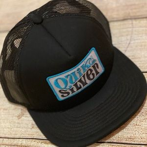 New Quicksilver SnapBack Trucker Hat ball cap